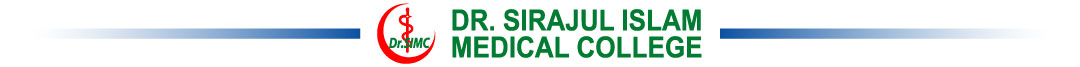 Dr Sirajul Islam Medical College Logo